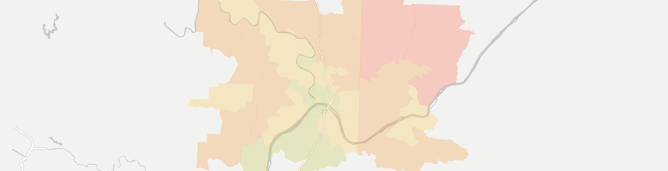 Marietta Internet Competition Map. Click for interactive map.