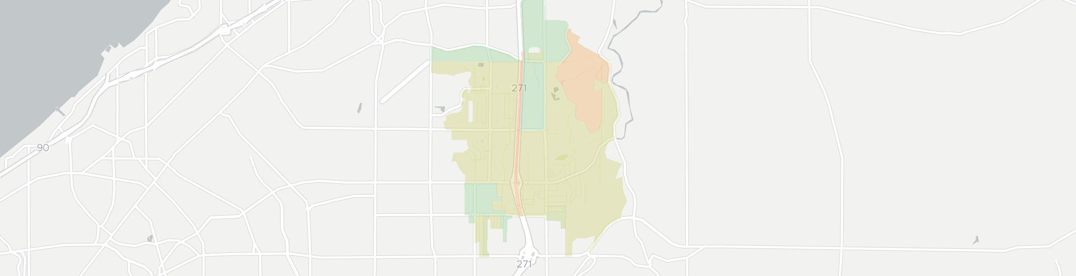 Mayfield Ohio Map.Internet Providers In Mayfield Oh Compare 18 Providers
