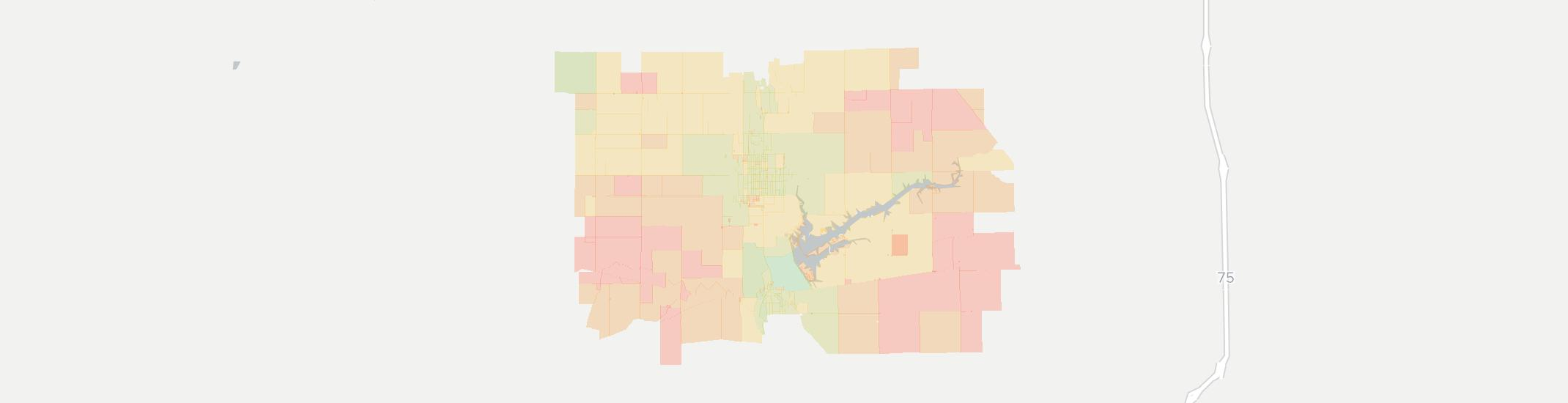 Minster Internet Competition Map. Click for interactive map.