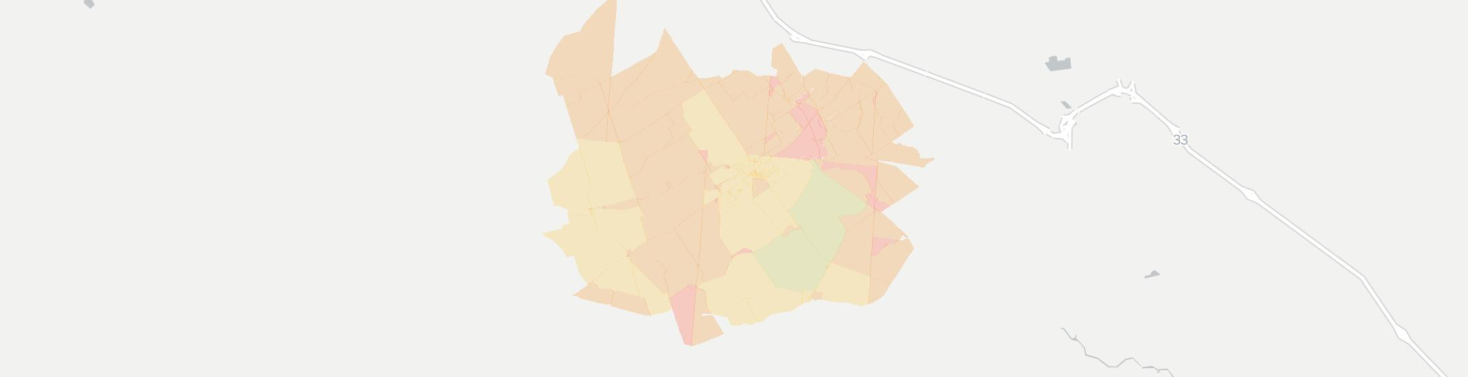 North Lewisburg Internet Competition Map. Click for interactive map.