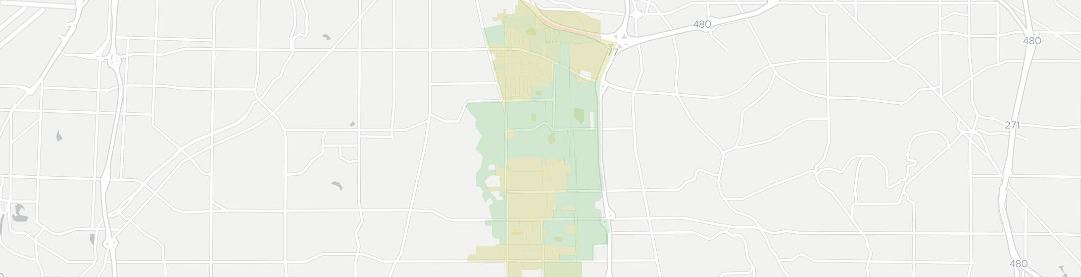 Seven Hills Internet Competition Map. Click for interactive map.