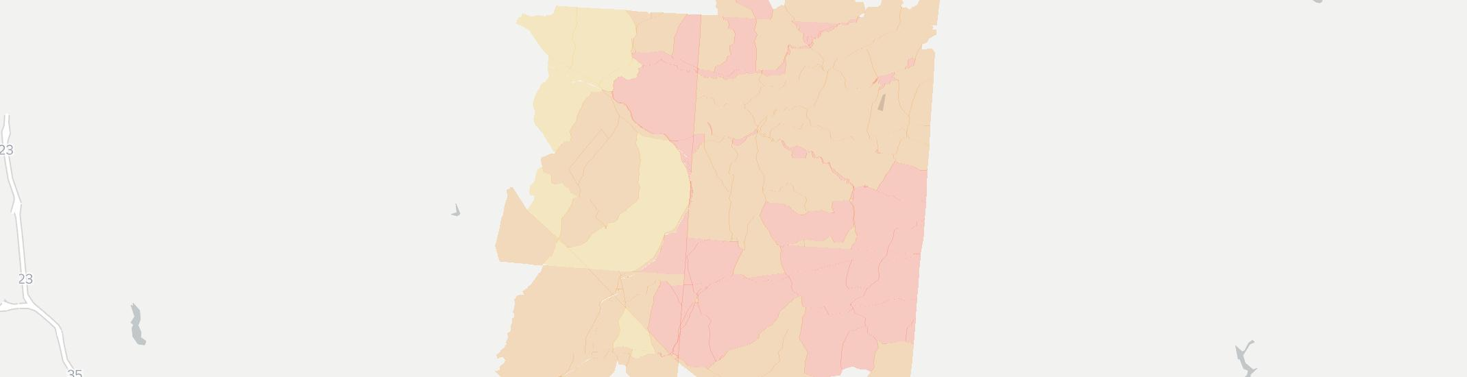 South Bloomingville Internet Competition Map. Click for interactive map.