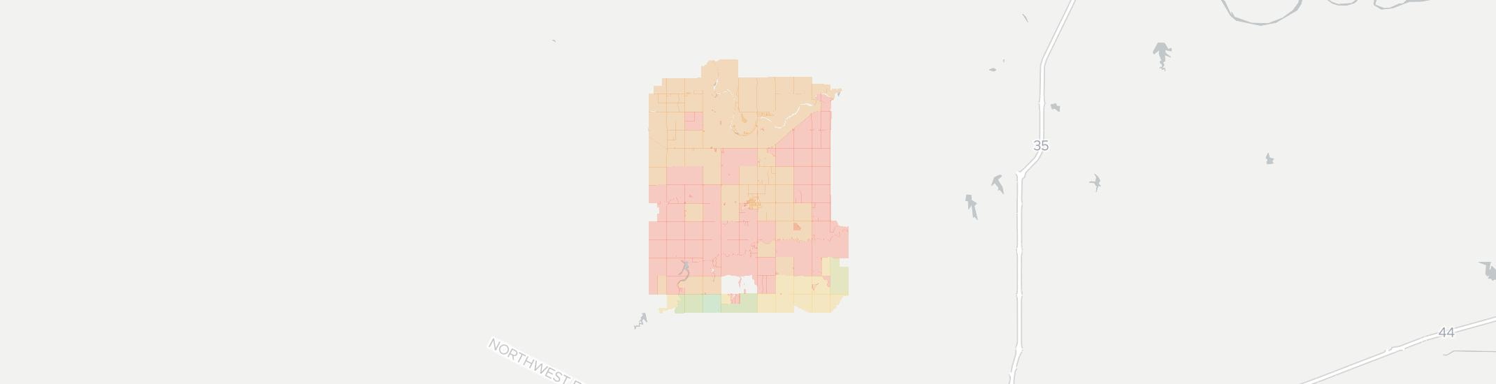 Cashion Internet Competition Map. Click for interactive map.