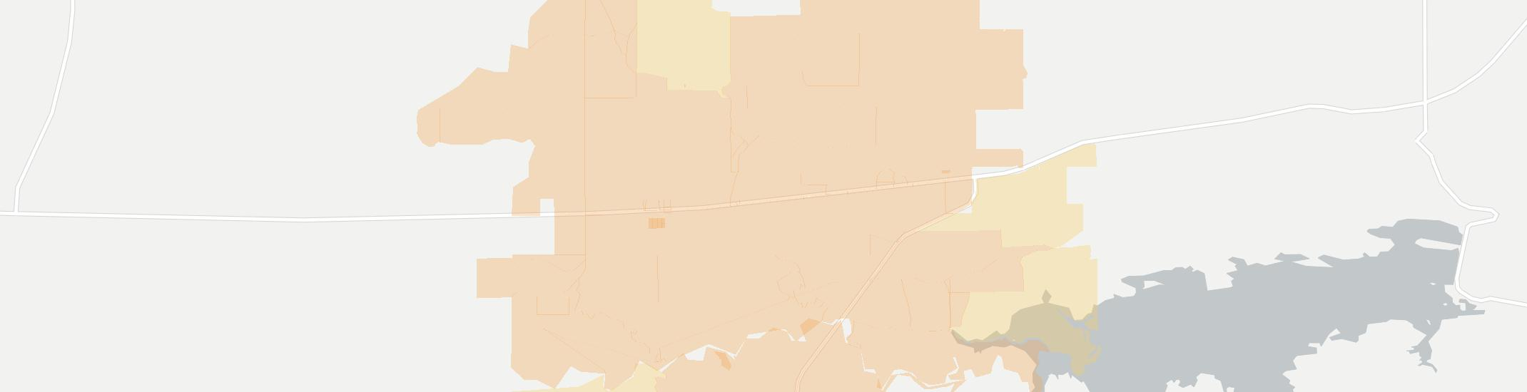 Fanshawe Internet Competition Map. Click for interactive map.