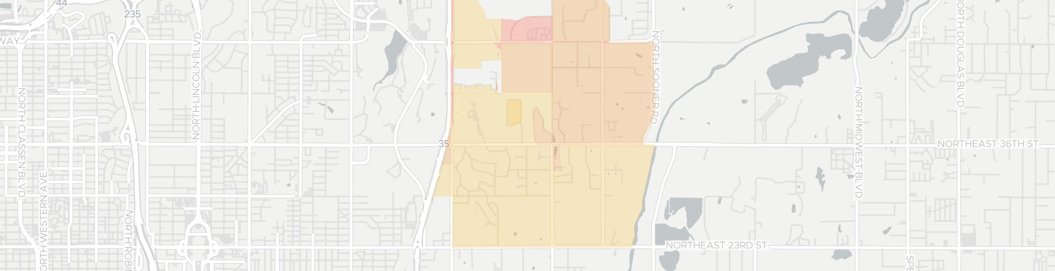 Forest Park Internet Competition Map. Click for interactive map.