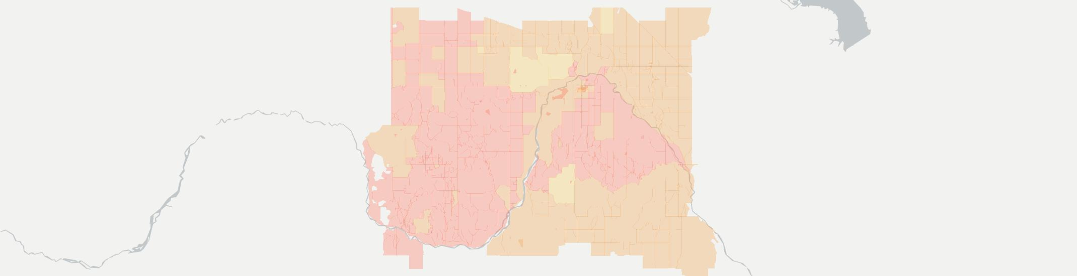 Taloga Internet Competition Map. Click for interactive map.