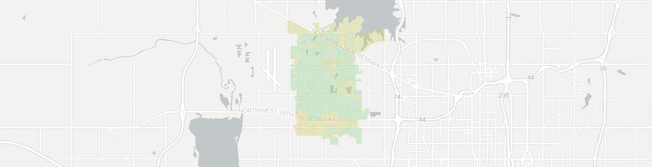 Warr Acres Internet Competition Map. Click for interactive map.