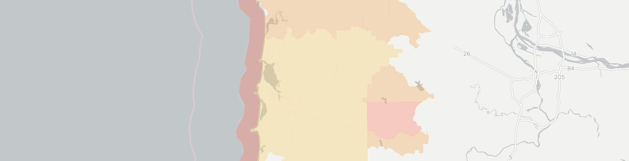 Tillamook Internet Competition Map. Click for interactive map.