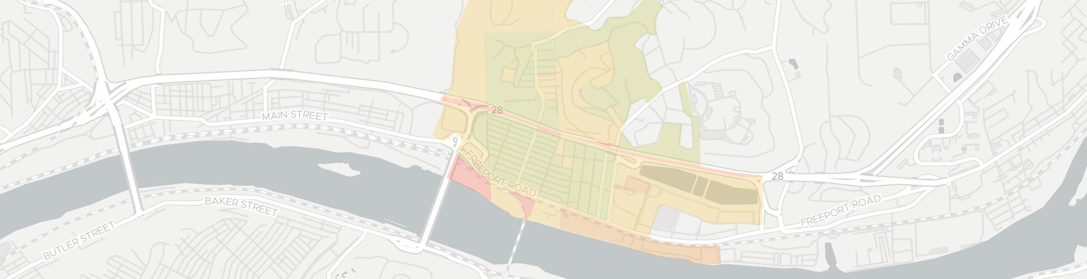 Aspinwall Internet Competition Map. Click for interactive map.