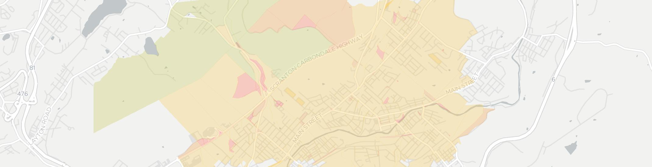 Blakely Internet Competition Map. Click for interactive map.