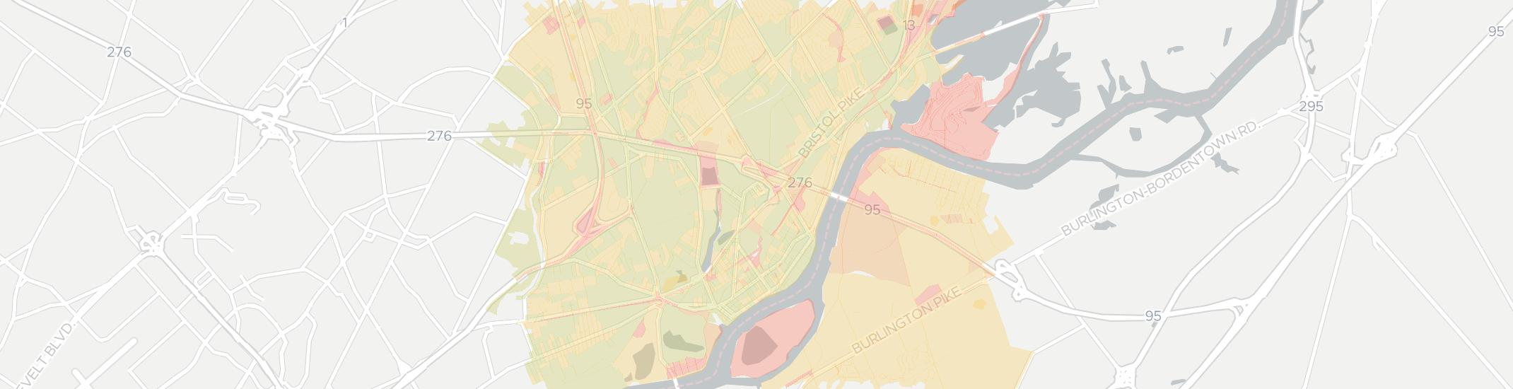 Bristol Internet Competition Map. Click for interactive map.