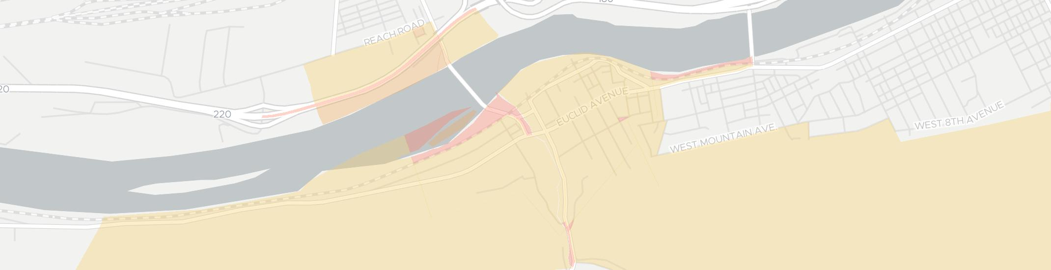Duboistown Internet Competition Map. Click for interactive map.