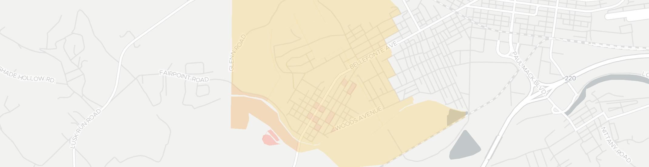 Flemington Internet Competition Map. Click for interactive map.