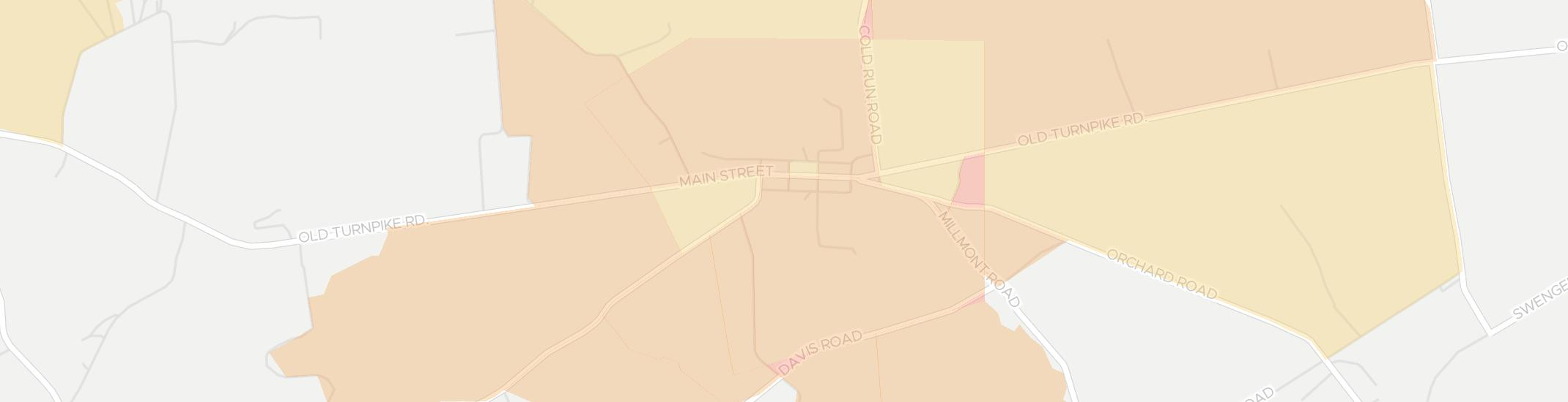 Hartleton Internet Competition Map. Click for interactive map.