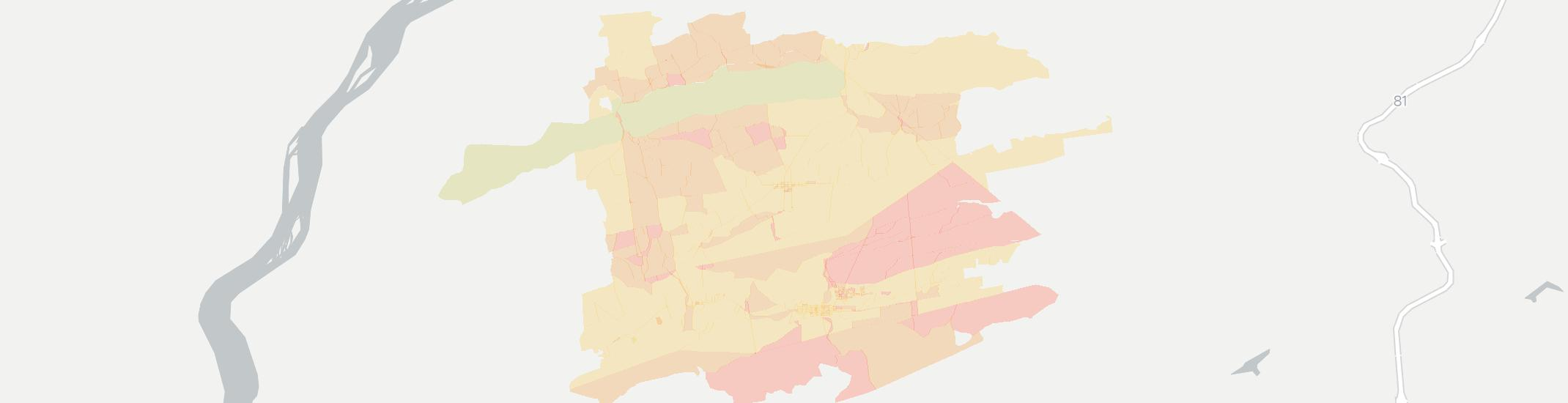 Lykens Internet Competition Map. Click for interactive map.