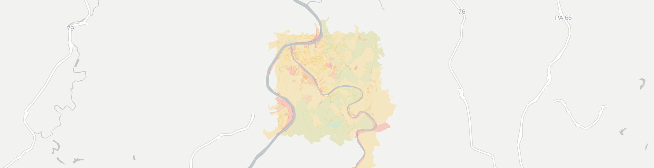 Mckeesport Internet Competition Map. Click for interactive map.