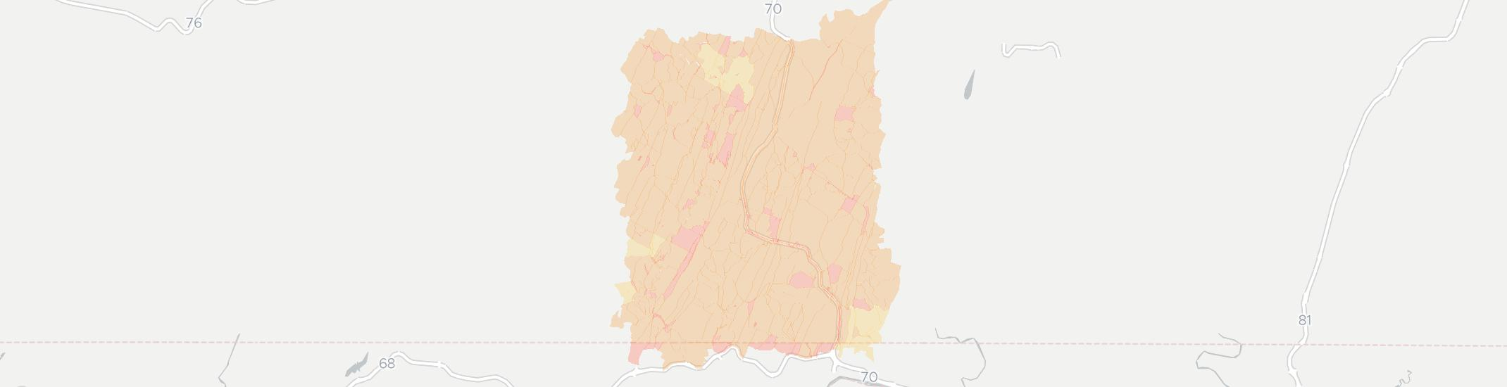 Warfordsburg Internet Competition Map. Click for interactive map.