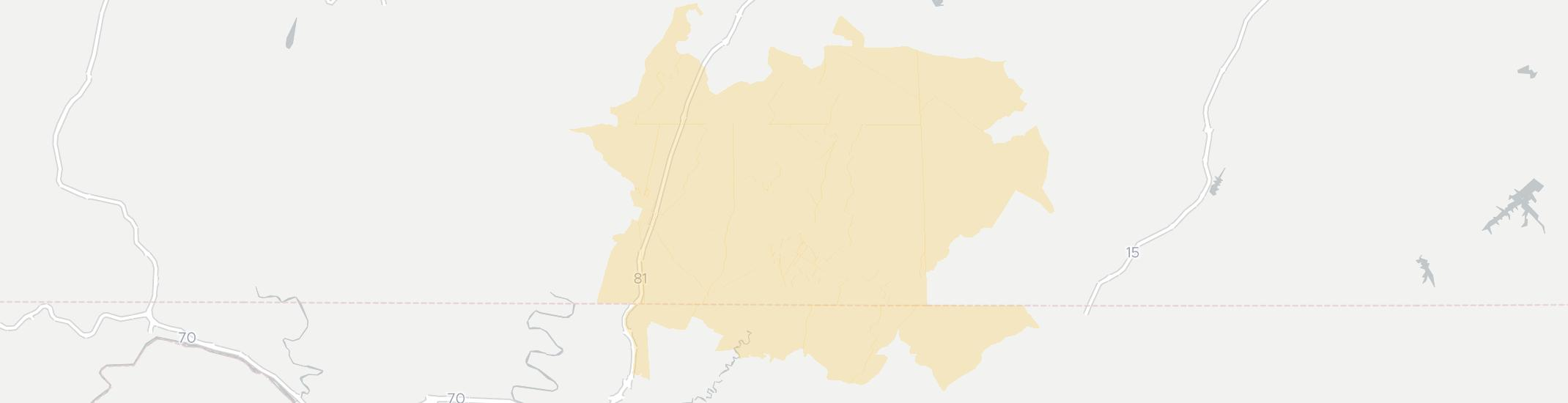 Waynesboro Internet Competition Map. Click for interactive map.