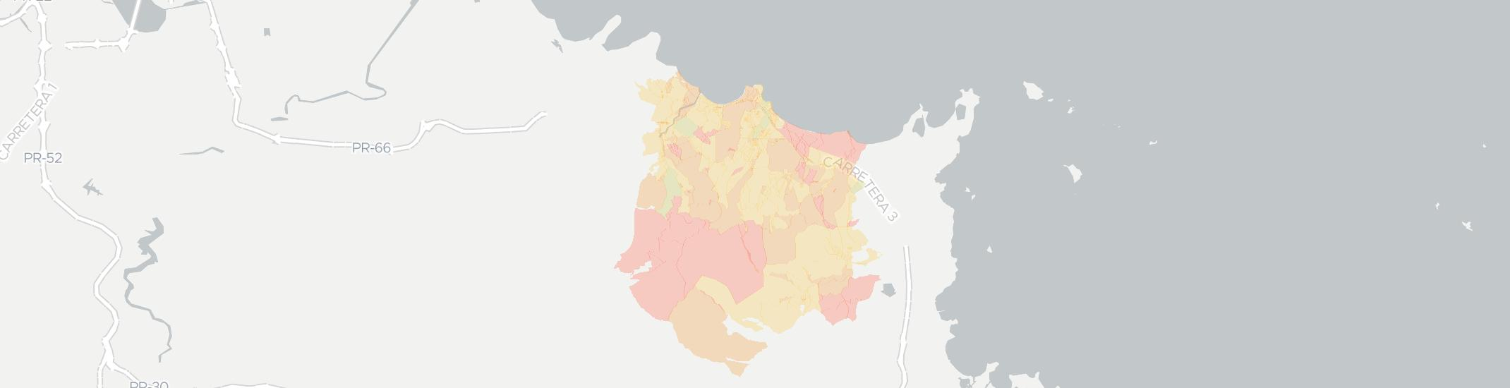 Luquillo Internet Competition Map. Click for interactive map.
