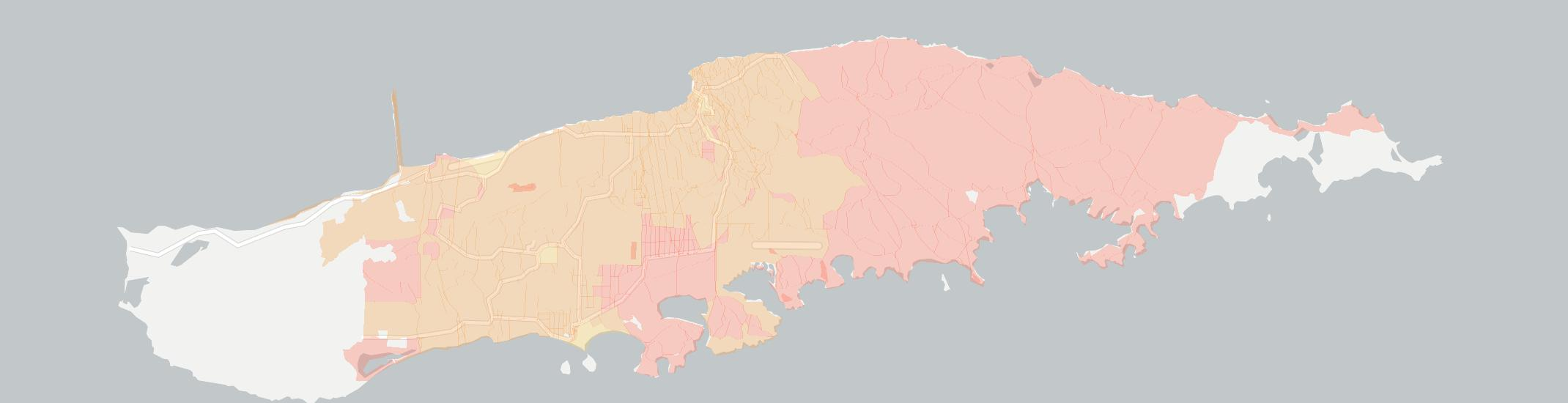 Vieques Internet Competition Map. Click for interactive map.