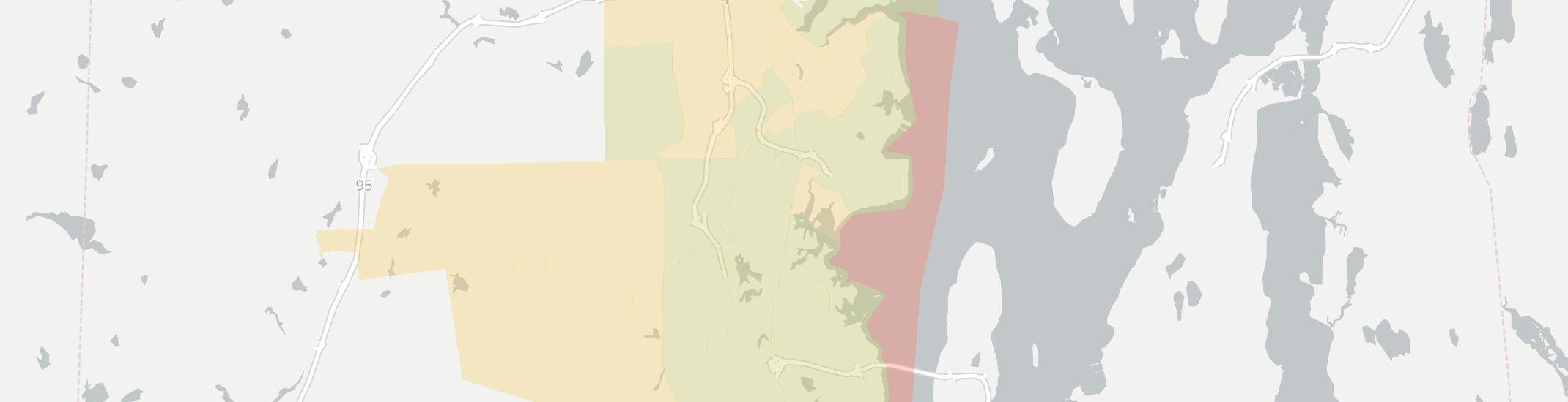 North Kingstown Internet Competition Map. Click for interactive map.