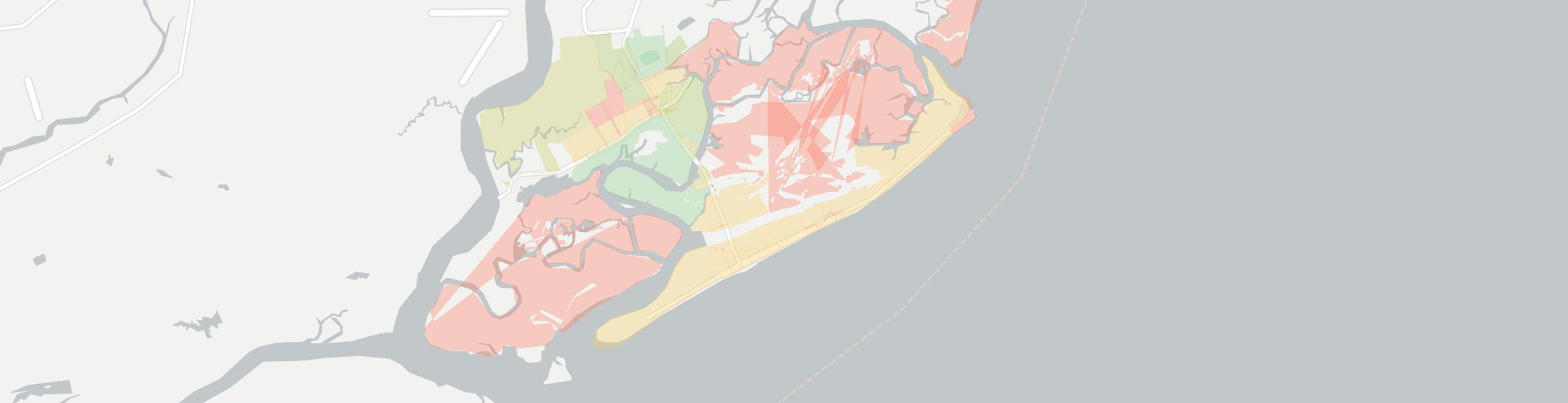 Folly Beach South Carolina Map.Folly Beach Has 10 Internet Service Providers Up To 150 Mbps