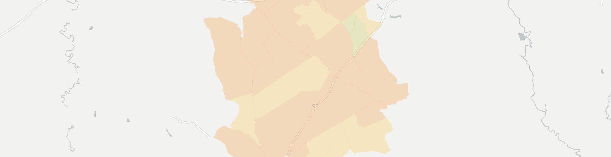 Lynchburg Internet Competition Map. Click for interactive map.