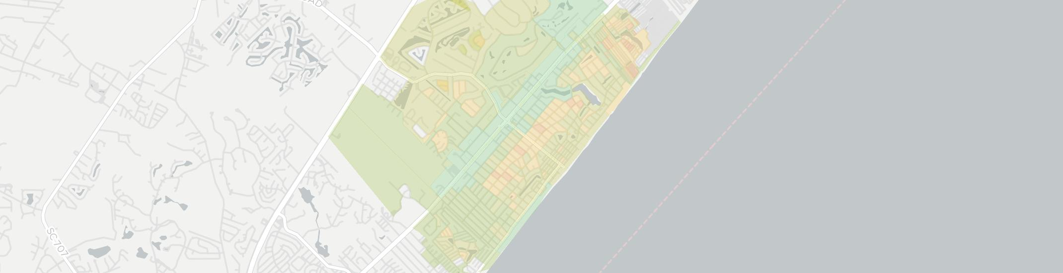 Surfside Beach Internet Competition Map. Click for interactive map.