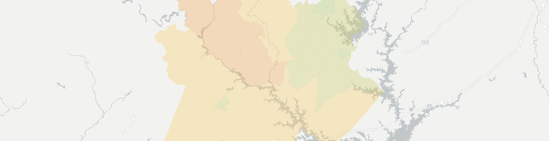 Westminster Internet Competition Map. Click for interactive map.