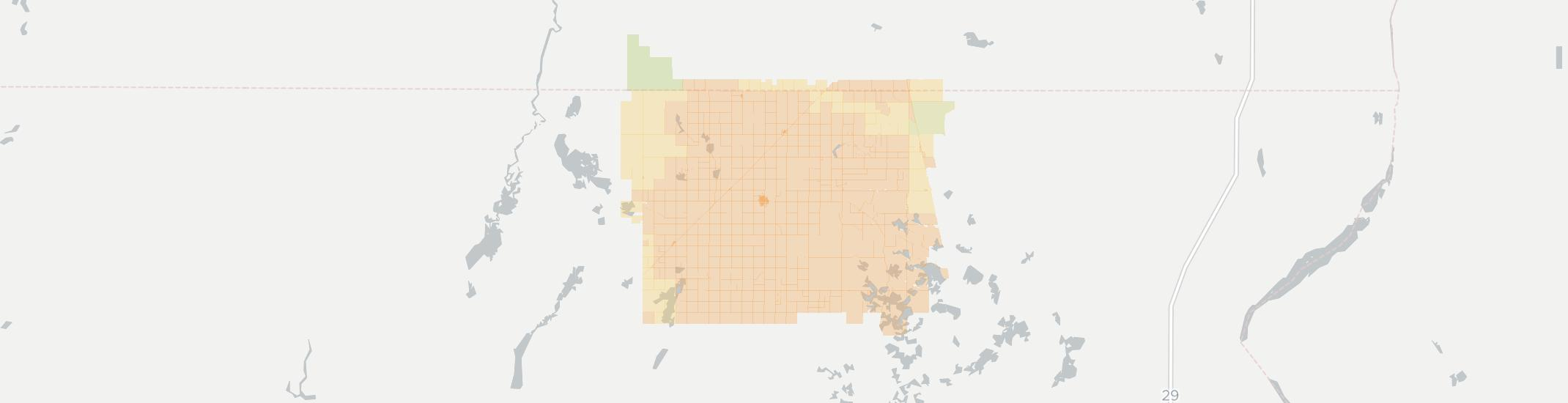 Britton Internet Competition Map. Click for interactive map.