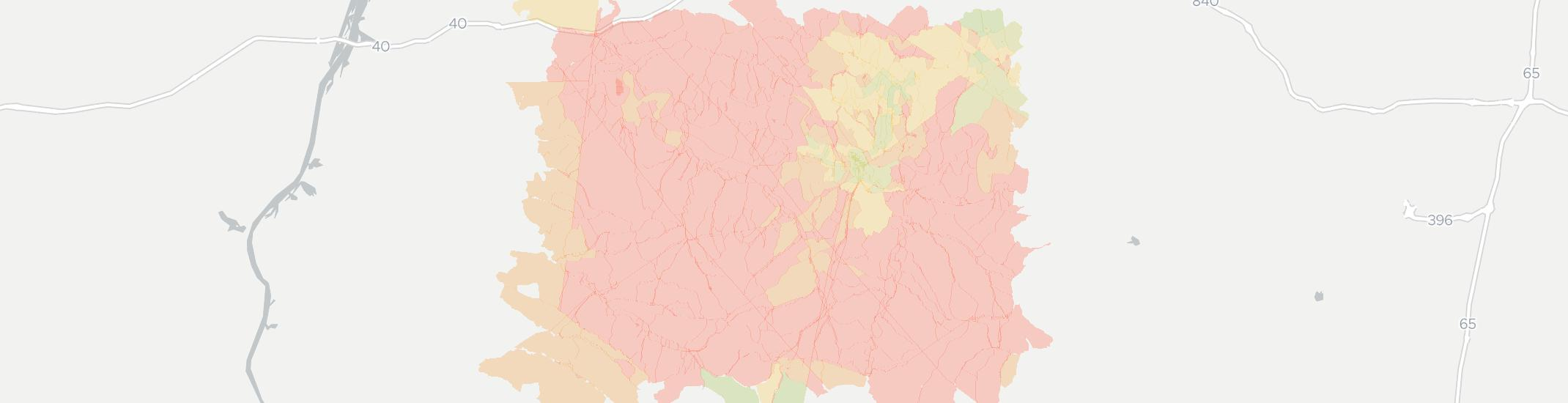 Centerville Internet Competition Map. Click for interactive map.