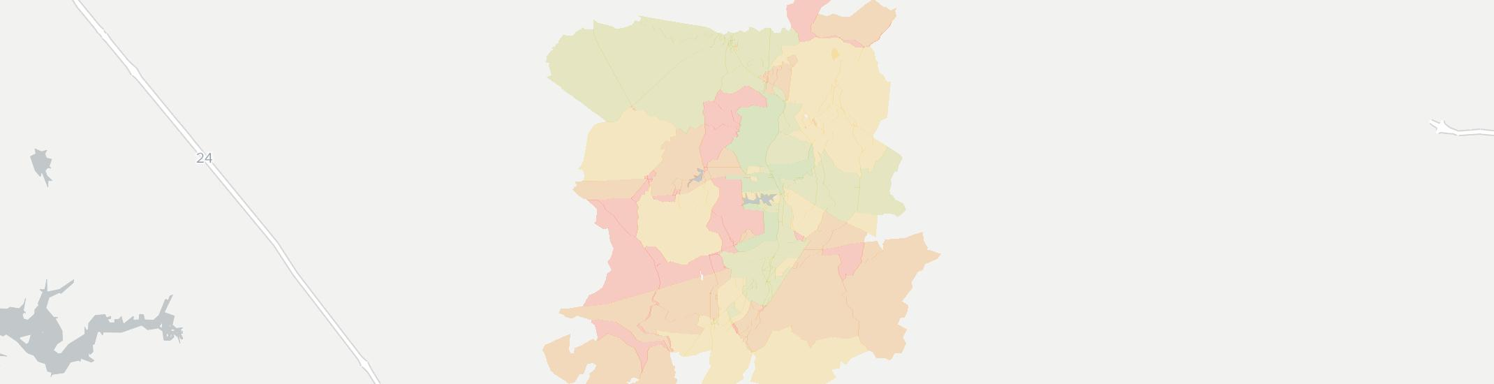 Coalmont Internet Competition Map. Click for interactive map.