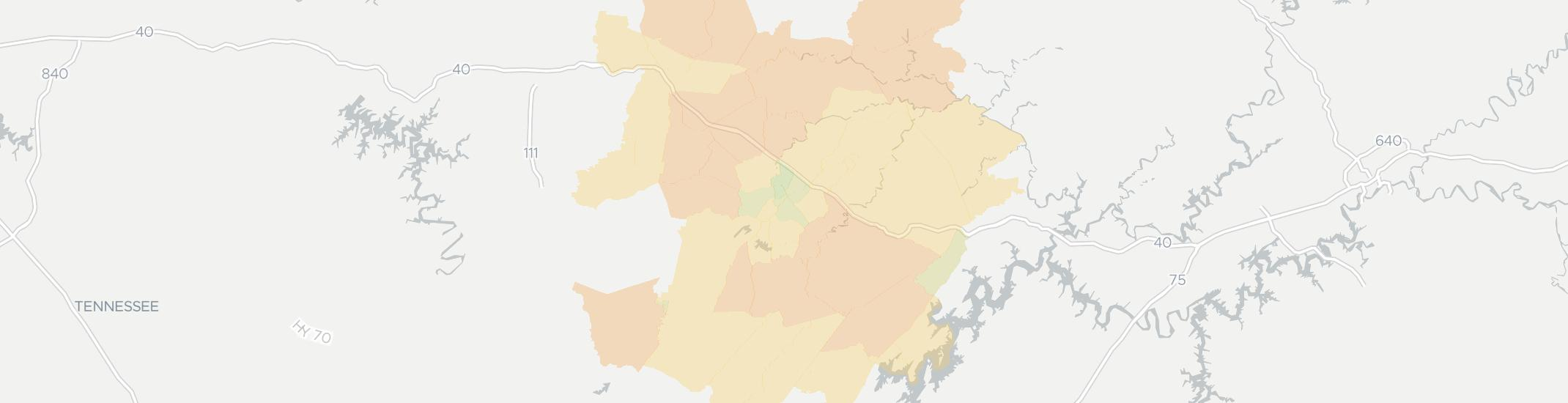 Crossville Internet Competition Map. Click for interactive map.