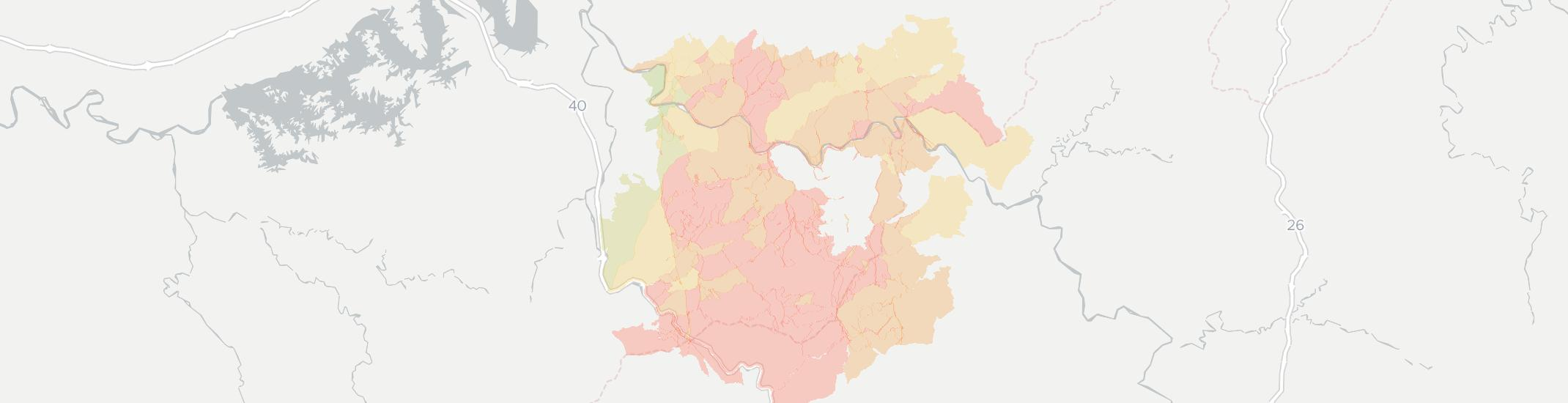 Del Rio Internet Competition Map. Click for interactive map.