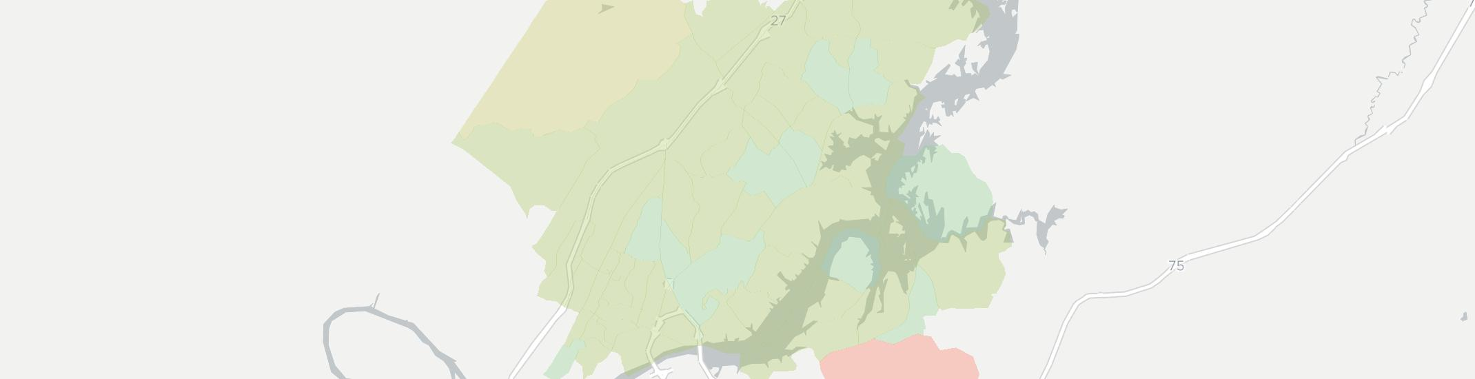 Hixson Internet Competition Map. Click for interactive map.