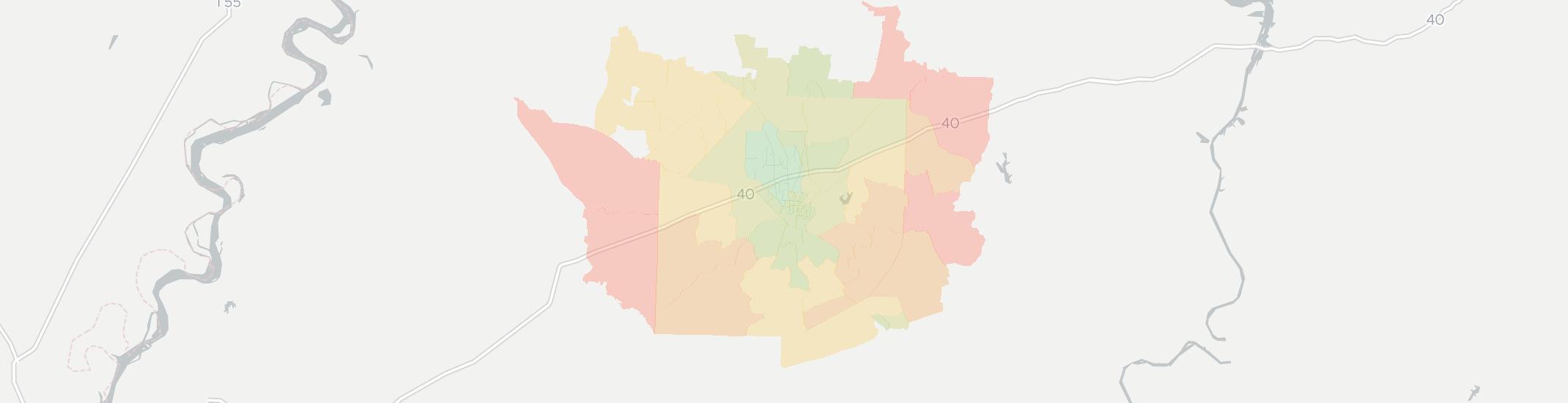 Jackson Tn Zip Code Map.Internet Providers In Jackson Tn Compare 15 Providers