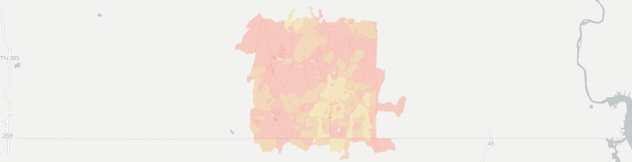 Middleton Internet Competition Map. Click for interactive map.