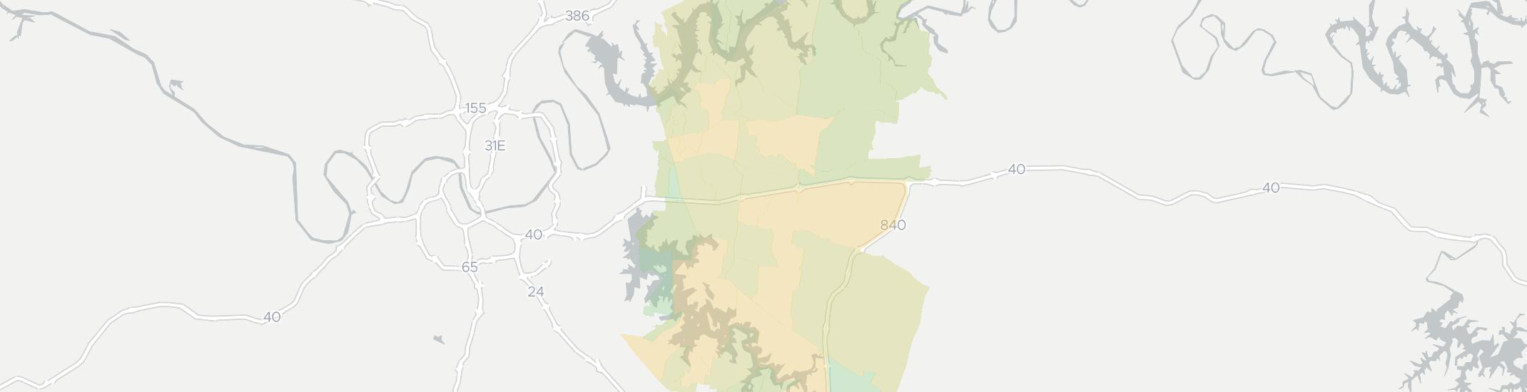 Mount Juliet Internet Competition Map. Click for interactive map.