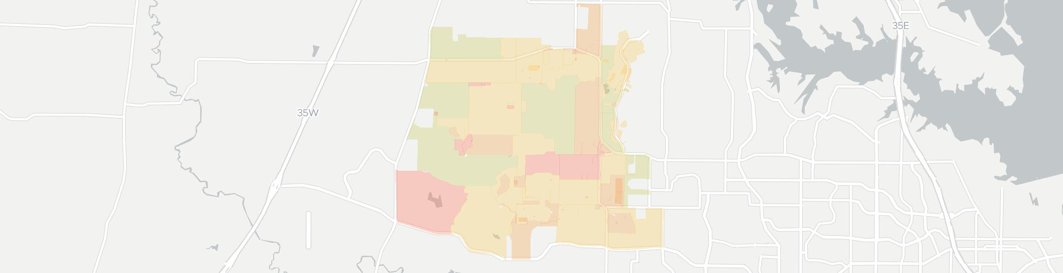 Bartonville Internet Competition Map. Click for interactive map.