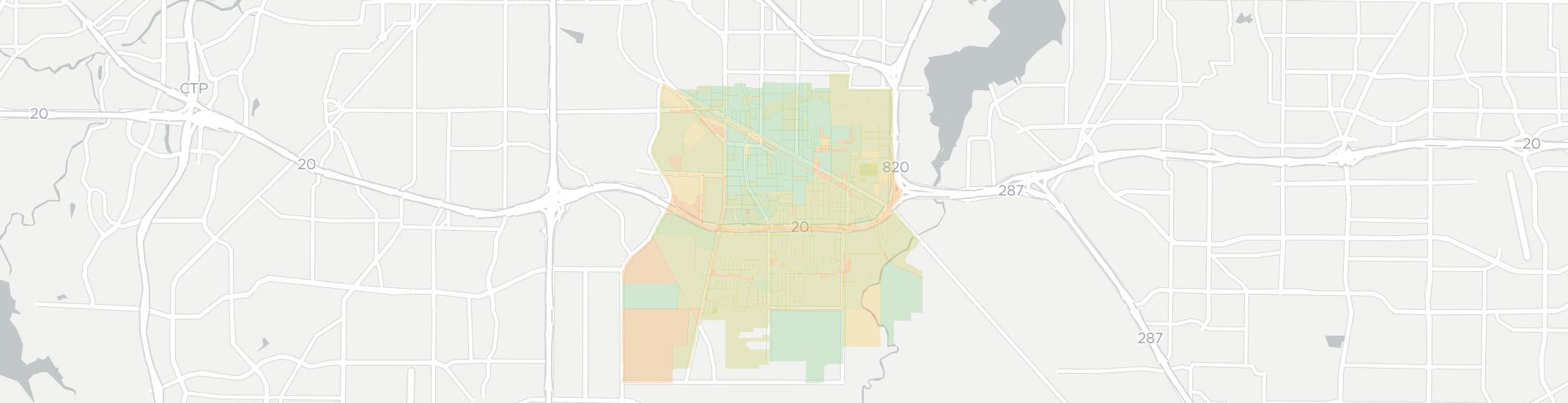 Forest Hill Internet Competition Map. Click for interactive map.