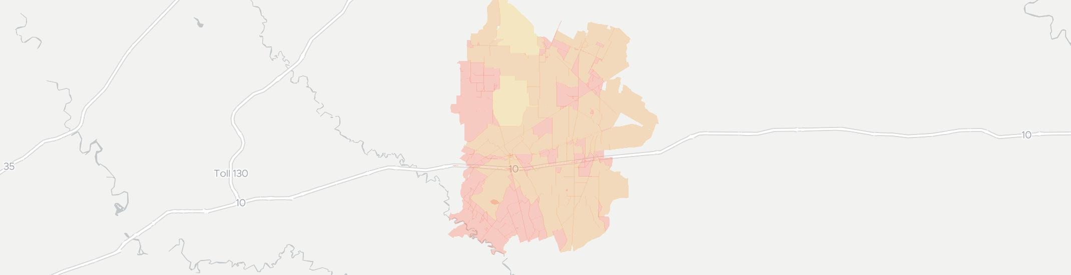 Harwood Internet Competition Map. Click for interactive map.