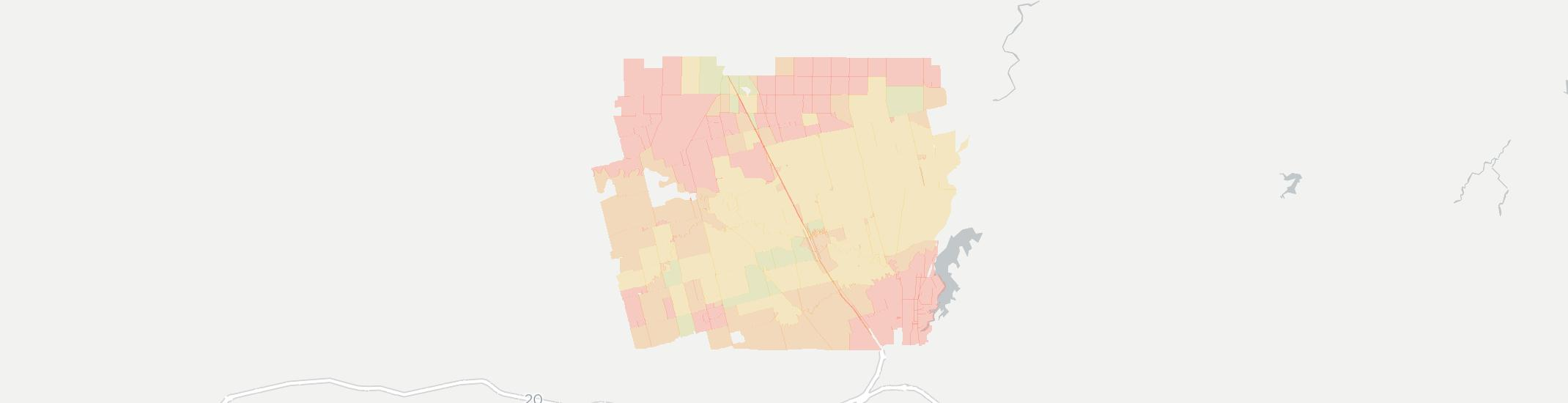 Hawley Internet Competition Map. Click for interactive map.