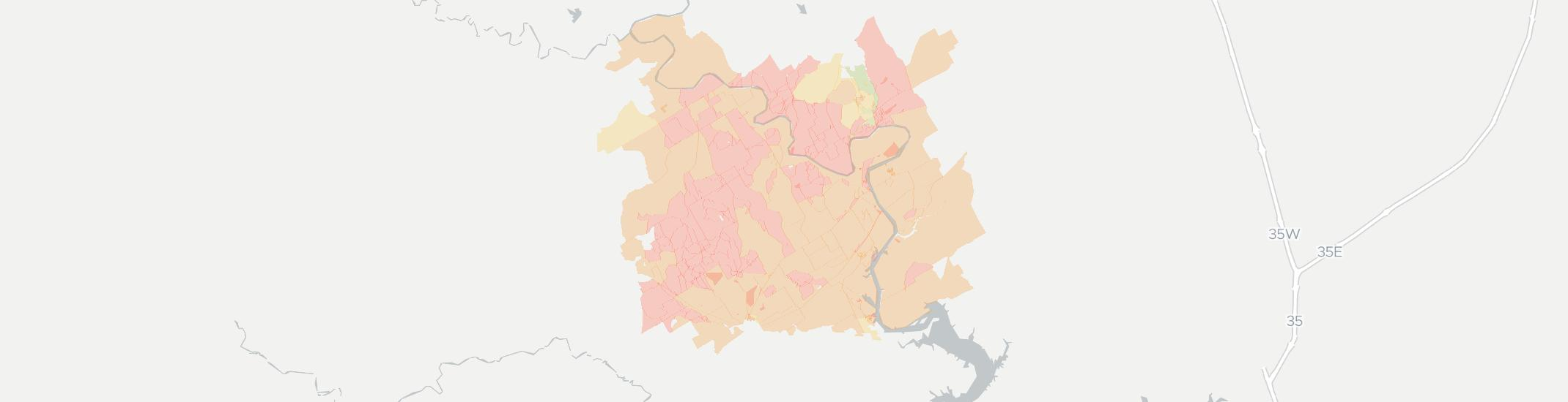 Kopperl Internet Competition Map. Click for interactive map.