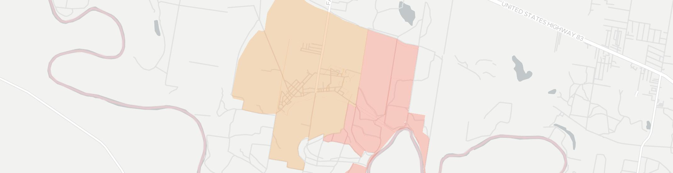 La Grulla Internet Competition Map. Click for interactive map.