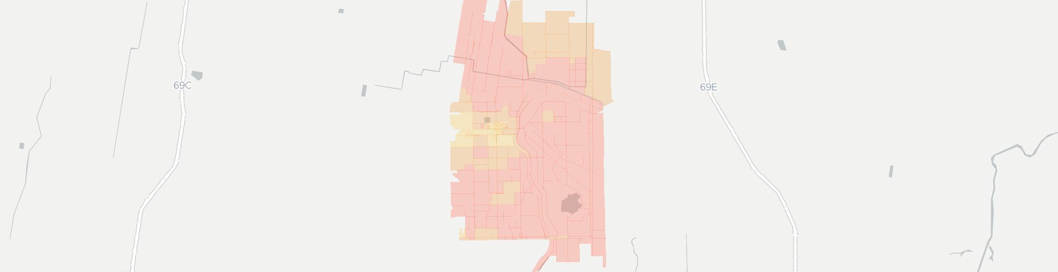 La Villa Internet Competition Map. Click for interactive map.