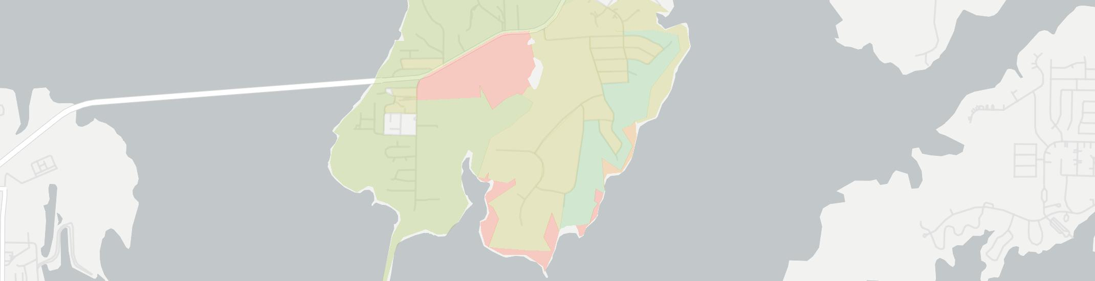 Lakewood Village Internet Competition Map. Click for interactive map.