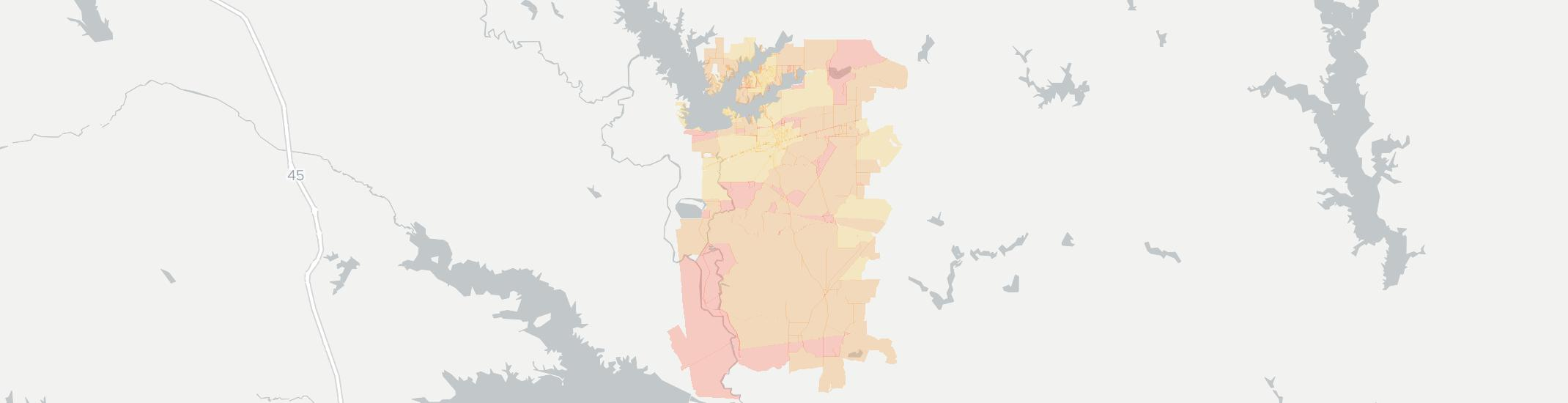 Malakoff Internet Competition Map. Click for interactive map.