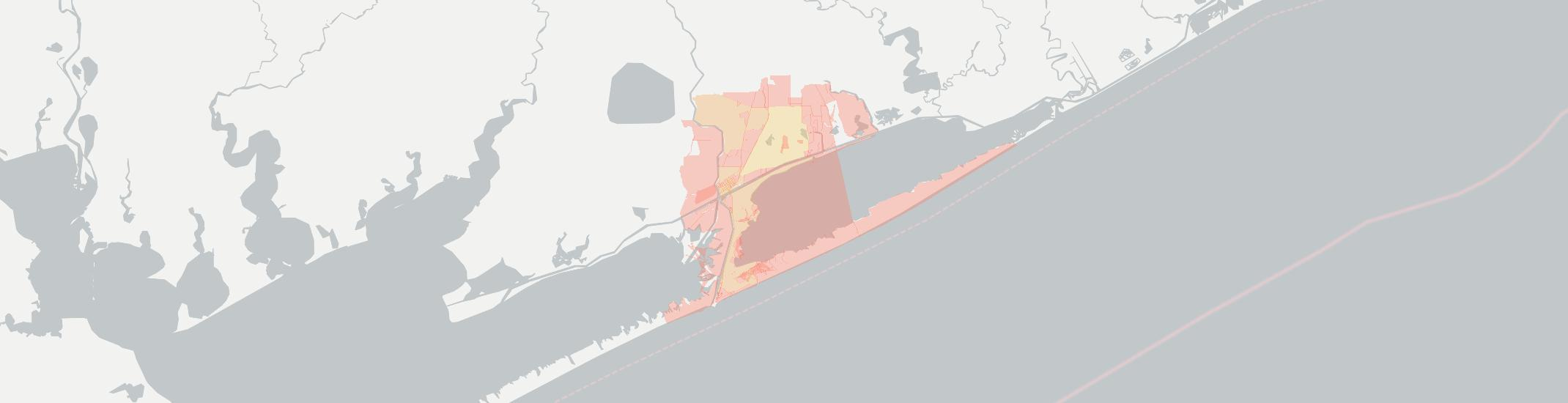Matagorda Internet Competition Map. Click for interactive map.