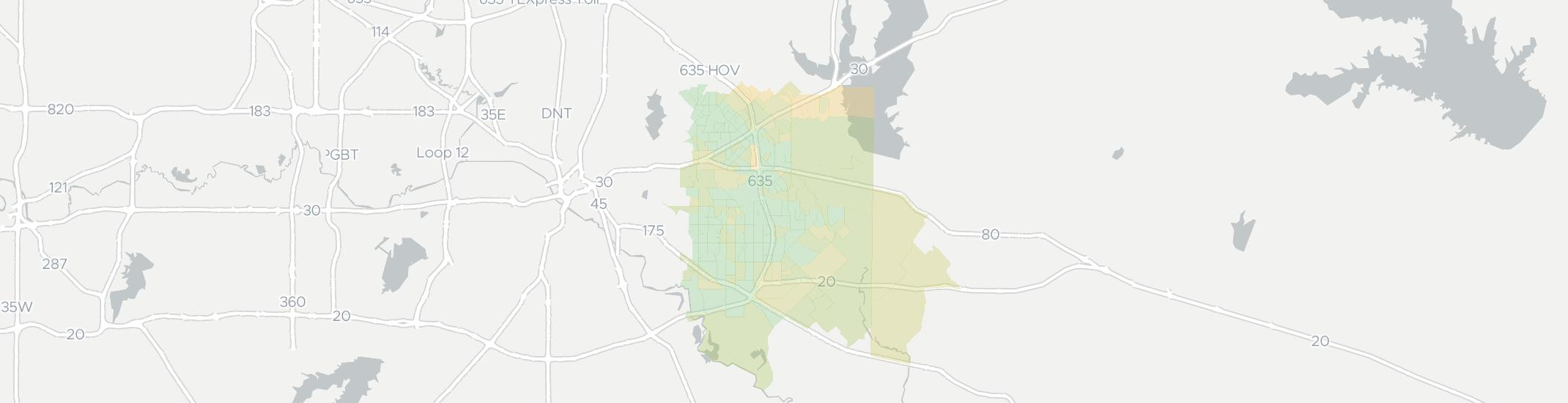 Mesquite Zip Code Map.Internet Providers In Mesquite Tx Compare 28 Providers