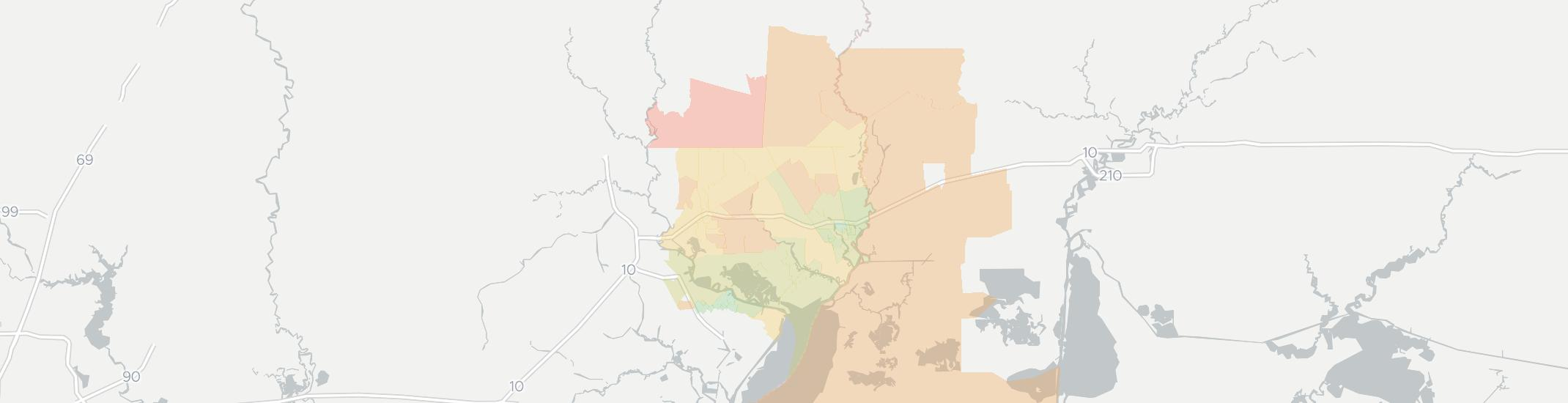 Orange Internet Competition Map. Click for interactive map.